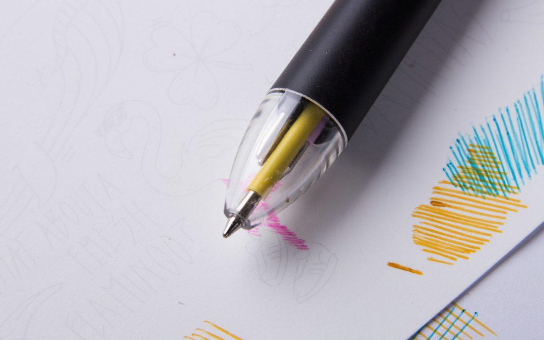 Pen CMYK, el bolígrafo que pinta de todos los colores