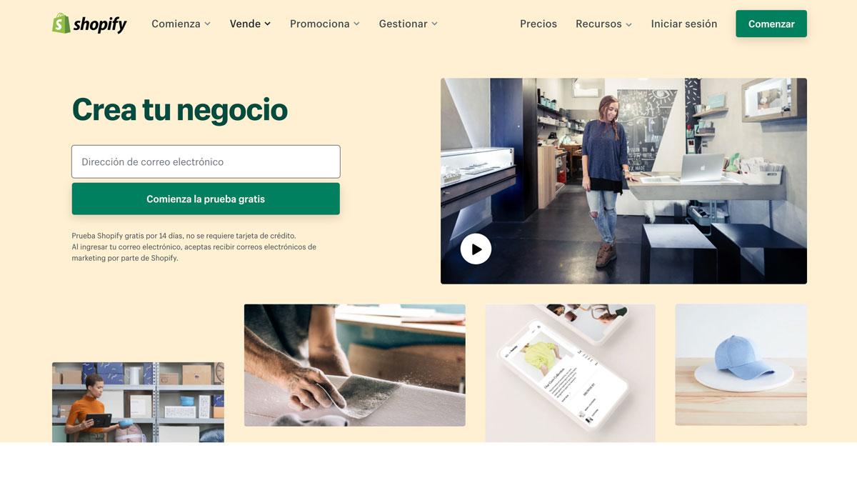 Shopify marketing digital galapagar