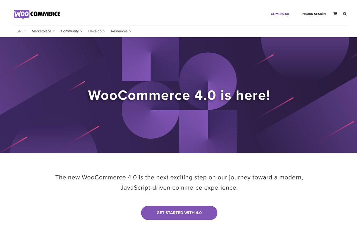 woocommerce paginas web galapagar