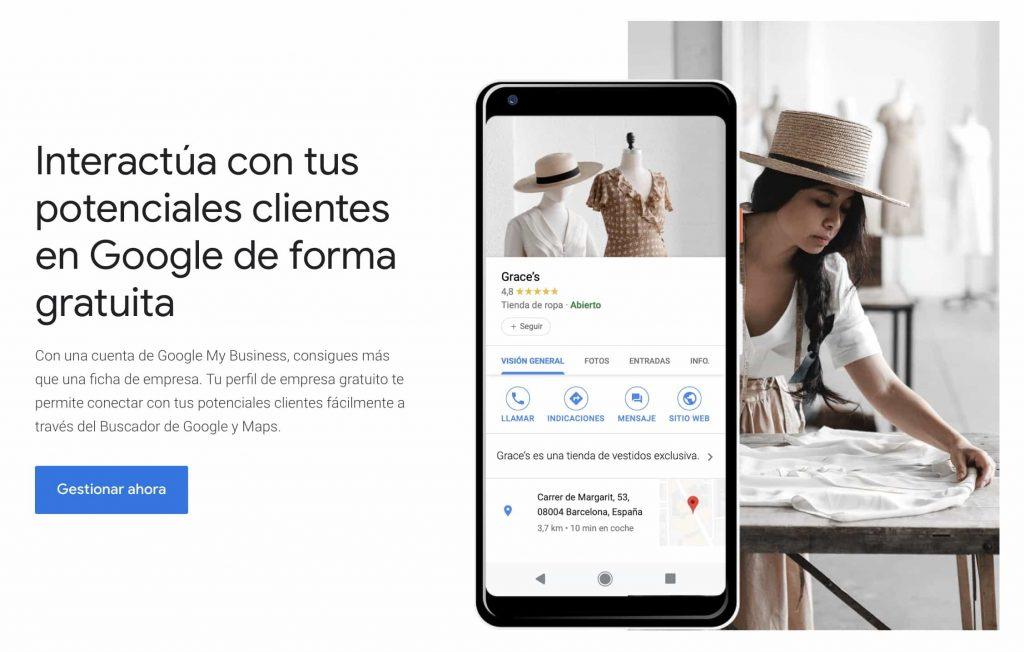 configuracion google my business guadarrama avila galapagar