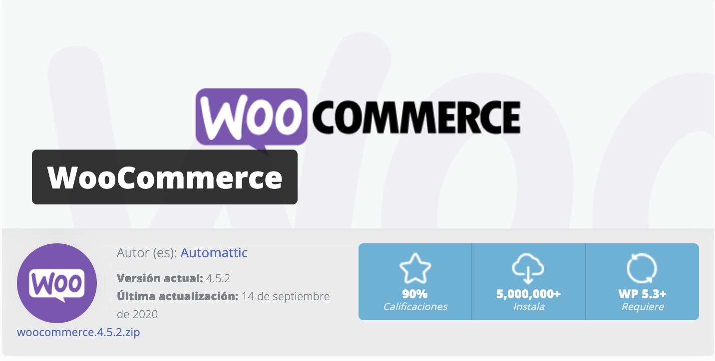 woocommerce diseño web guadarrama