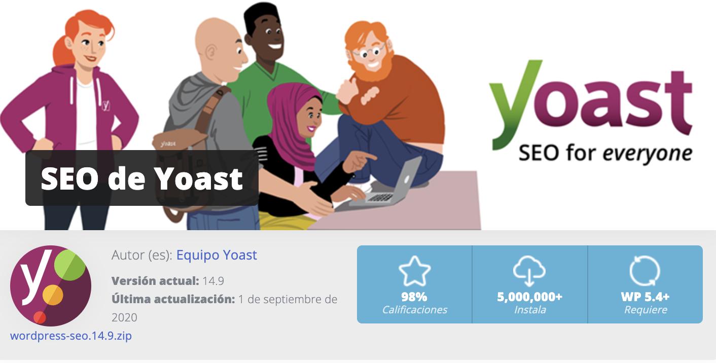 yoast SEO diseño grafico guadarrama
