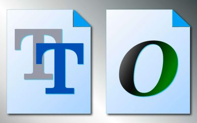 ¿Cuál es la diferencia entre opentype y truetype?